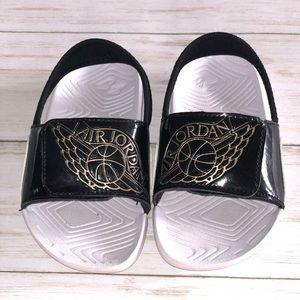 Jordan Hydro Sandals/Flip Flops - 8 Toddler